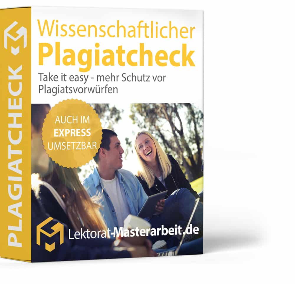 Plagiatspruefung (Plagiat-Check) für Deine Masterarbeit (Masterthesis) - Dein Schutz vor Plagiatsvorwuerfen