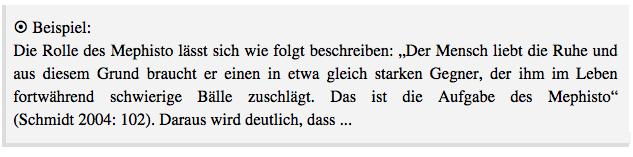 Beispiel aus Bahr, Jonas/Frackmann, Malte (2011): 7