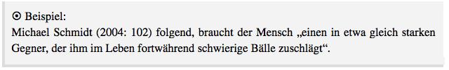 Beispiel aus Bahr, Jonas/Frackmann, Malte (2011): 8