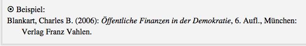 Beispiel aus Bahr, Jonas/Frackmann, Malte (2011): 26